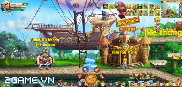 Hé lộ teaser cực cool của game hành động One Piece ZeZe 3