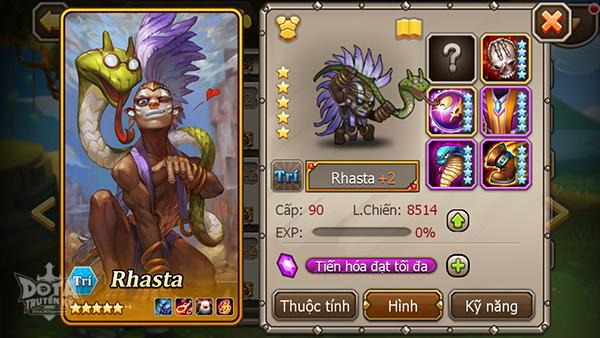 """DotA Truyền Kỳ: Tìm hiểu hero """"Bậc thầy phù thủy"""" Rhasta 2"""