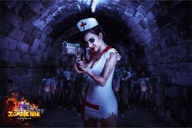 Cùng nghe Bà Tưng chia sẻ cảm nhận đầu tiên khi trải nghiệm Zombie War 4