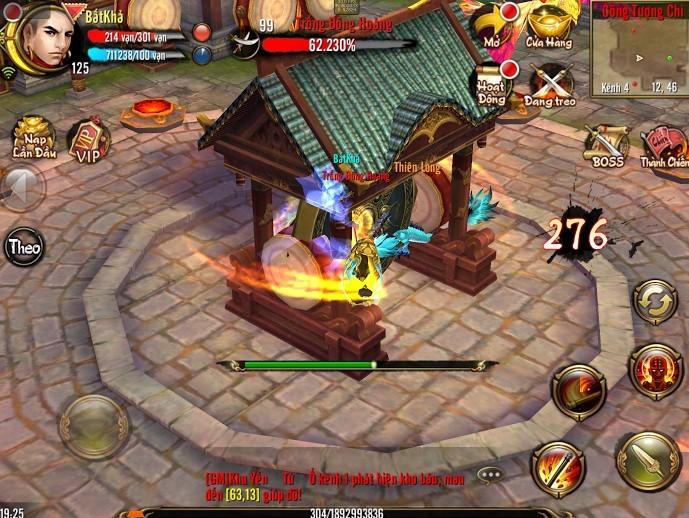 Thiên Long Bát Bộ 3D mobile: Tìm hiểu tính năng Công Thành Chiến 0