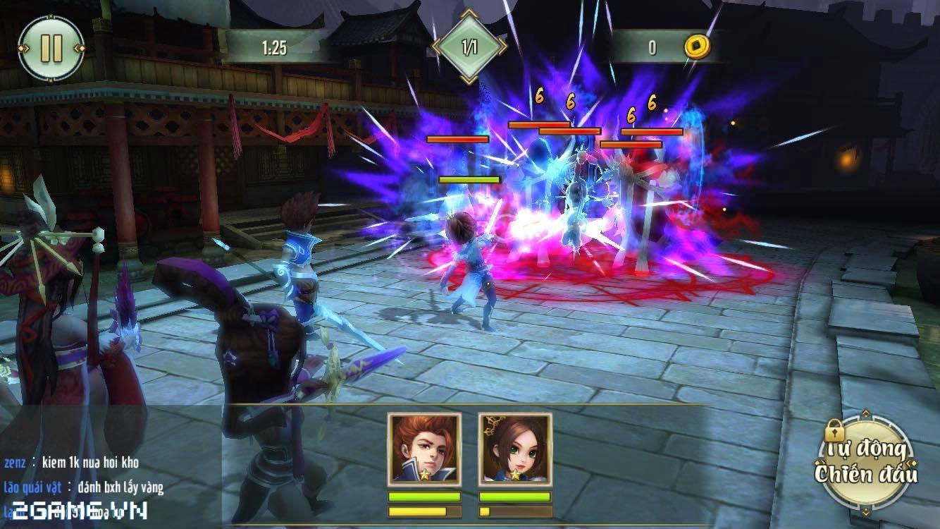 Võ Lâm Ngoại Truyện mobile tặng Giftcode cho game thủ 2Game 1
