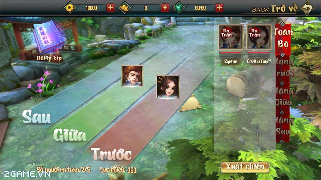 Võ Lâm Ngoại Truyện Mobile náo nhiệt trong ngày đầu ra mắt 4