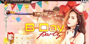 Toàn bộ server game Đột Kích được nhận miễn phí vũ khí VIP vào đúng ngày sinh nhật