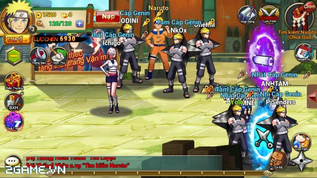 Game mobile Huyền Thoại Naruto chơi cũng được đấy chứ?! 2