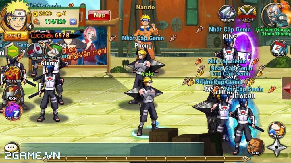 Game mobile Huyền Thoại Naruto chơi cũng được đấy chứ?! 4