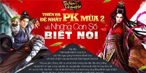 Tiếu Ngạo Giang Hồ Mobile: Thiên hạ đệ nhất PK mùa 2 và những con số biết nói