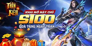 Tặng 505 giftcode game Thần Kiếm 3D