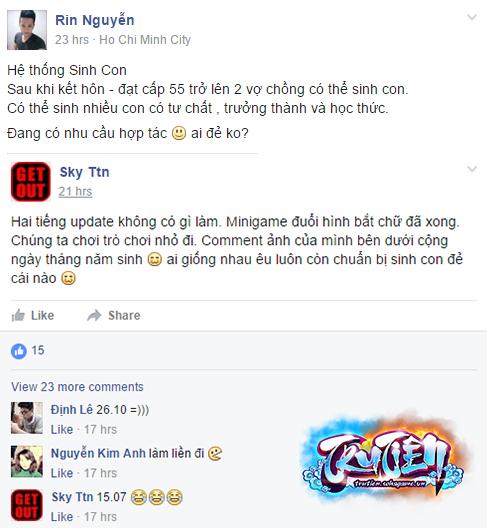 Tru Tiên Mobile - Bi hài những chuyện game thủ đòi kết hôn sinh con 1