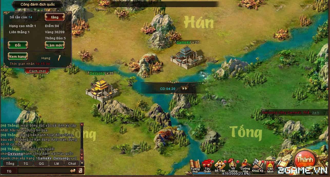 Trải nghiệm web game online Đế Vương Bá Nghiệp trước ngày ra mắt 8