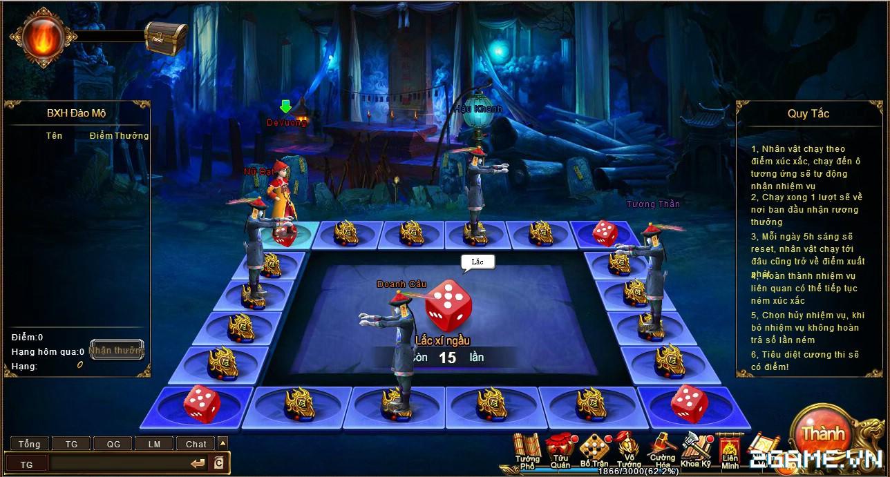 Trải nghiệm web game online Đế Vương Bá Nghiệp trước ngày ra mắt 7