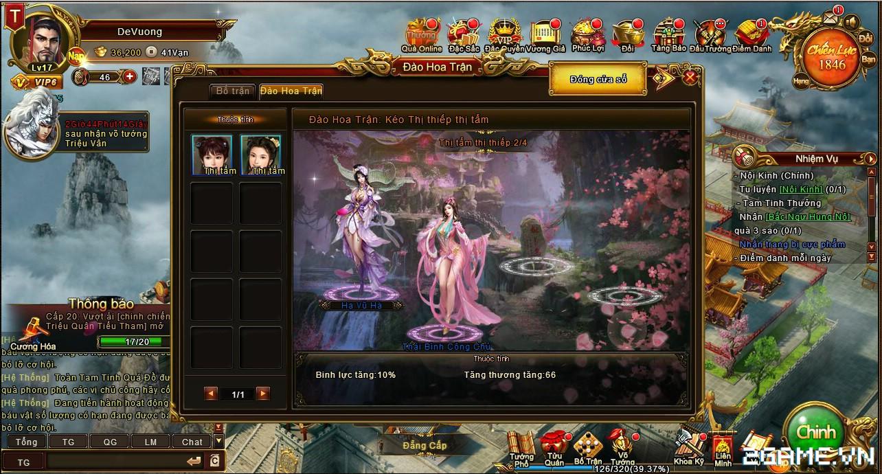 Trải nghiệm web game online Đế Vương Bá Nghiệp trước ngày ra mắt 3