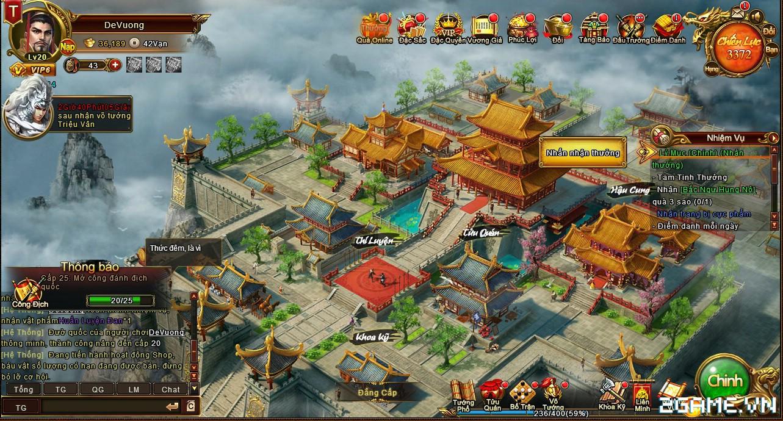 Trải nghiệm web game online Đế Vương Bá Nghiệp trước ngày ra mắt 1