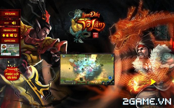 Loạn Đấu Võ Lâm: Game 3D Việt cực đẹp đã lộ diện Landing ấn tượng 0