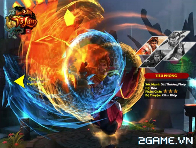 Loạn Đấu Võ Lâm: Game 3D Việt cực đẹp đã lộ diện Landing ấn tượng 1