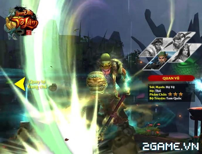 Loạn Đấu Võ Lâm: Game 3D Việt cực đẹp đã lộ diện Landing ấn tượng 2