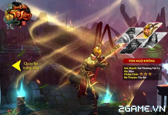 Loạn Đấu Võ Lâm: Game 3D Việt cực đẹp đã lộ diện Landing ấn tượng 4