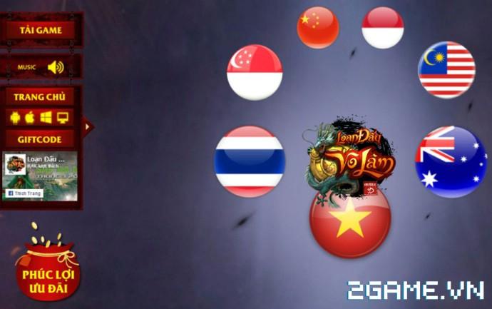 Loạn Đấu Võ Lâm: Game 3D Việt cực đẹp đã lộ diện Landing ấn tượng 7