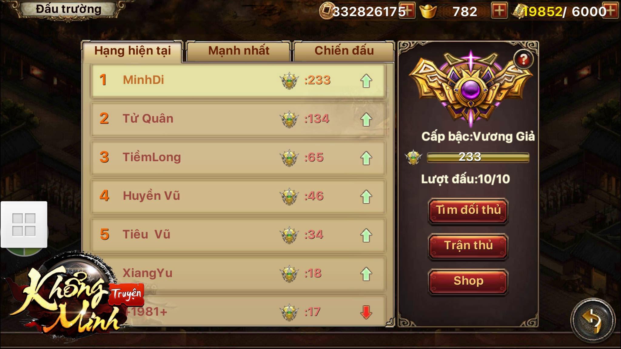 Gặp gỡ Minh Di, gamer Top 1 Rank Vương Giả nổi tiếng trong Khổng Minh Truyện 0
