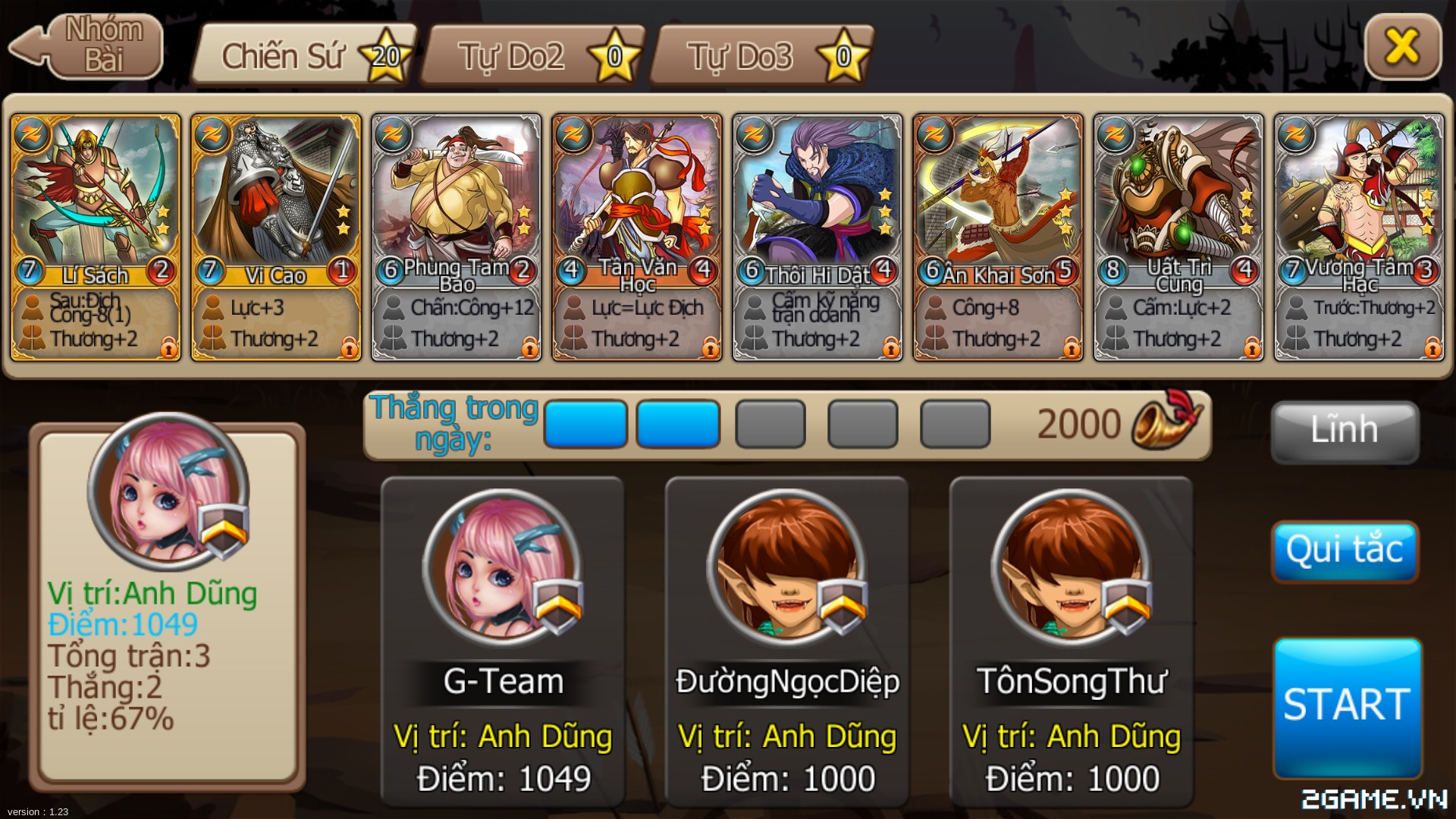 Tặng 310 giftcode game Tề Thiên Mobile 2