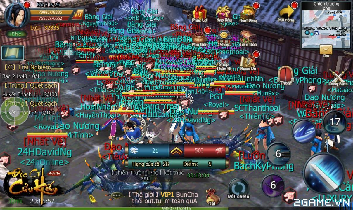 Gamer kêu cứu vì đồ sát tràn lan, Độc Cô Cửu Kiếm Mobile ra tay bảo vệ tân thủ 1