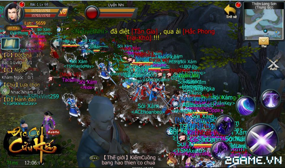 Gamer kêu cứu vì đồ sát tràn lan, Độc Cô Cửu Kiếm Mobile ra tay bảo vệ tân thủ 4