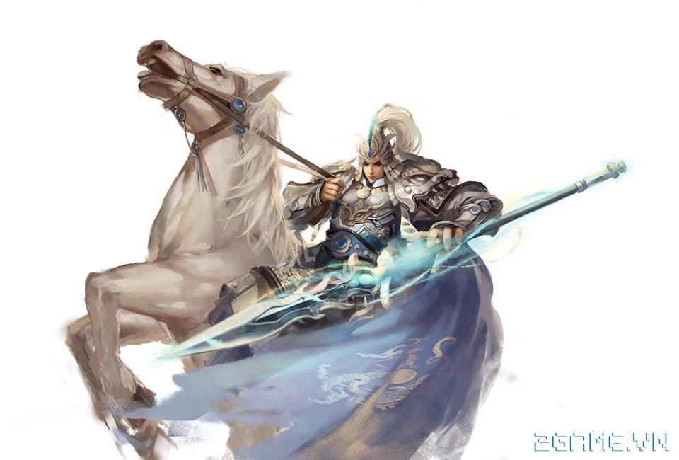 Chiến Thần Xích Bích - Tìm hiểu tướng Triệu Vân 0