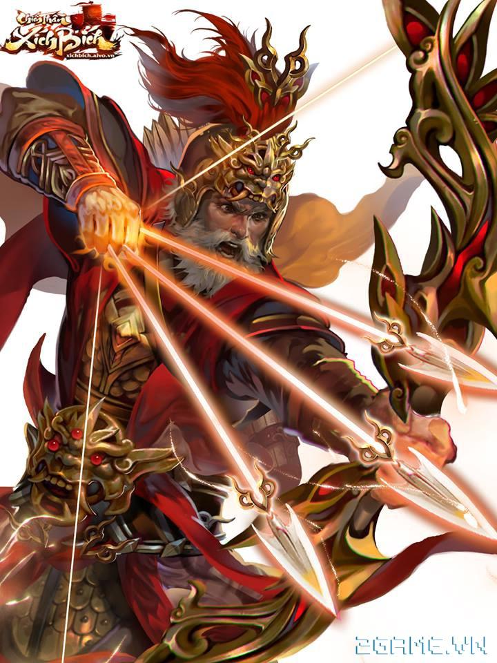 Chiến Thần Xích Bích - Tìm hiểu tướng Hoàng Trung 0