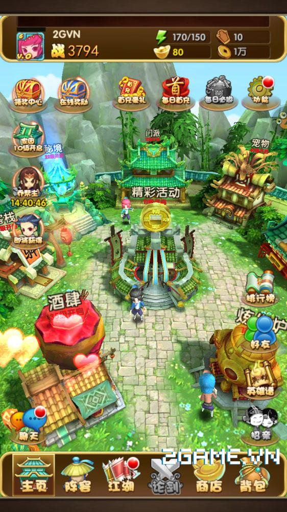 Chơi thử game mobile Võ Hiệp 3D trước thềm ra mắt tại Việt Nam 0