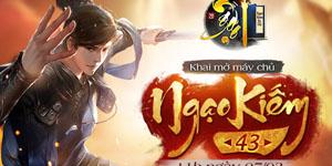 Tặng 199 giftcode game Ngạo Kiếm Kỳ Thư
