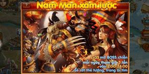 Binh Pháp 3D – Tìm hiểu tính năng Boss liên minh Nam Man