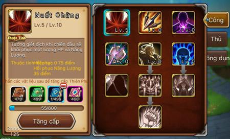 LoL Arena - Tìm hiểu tính năng Thiên Phú 0