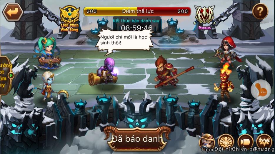 LoL Arena - Tìm hiểu tính năng Đại Loạn Đấu 0