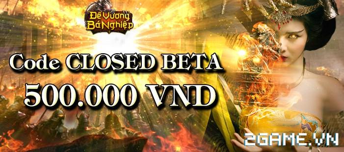 Tặng 510 giftcode game Đế Vương Bá Nghiệp 1