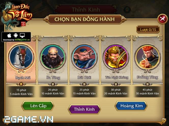 4 chất đặc trưng của dòng MMORPG hội tụ đầy đủ trong Loạn Đấu Võ Lâm 10