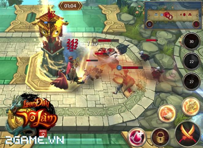 4 chất đặc trưng của dòng MMORPG hội tụ đầy đủ trong Loạn Đấu Võ Lâm 3