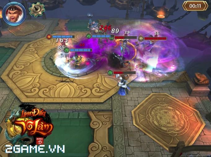 4 chất đặc trưng của dòng MMORPG hội tụ đầy đủ trong Loạn Đấu Võ Lâm 6