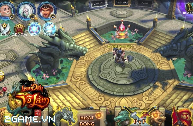4 chất đặc trưng của dòng MMORPG hội tụ đầy đủ trong Loạn Đấu Võ Lâm 7