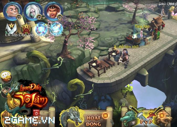 4 chất đặc trưng của dòng MMORPG hội tụ đầy đủ trong Loạn Đấu Võ Lâm 8
