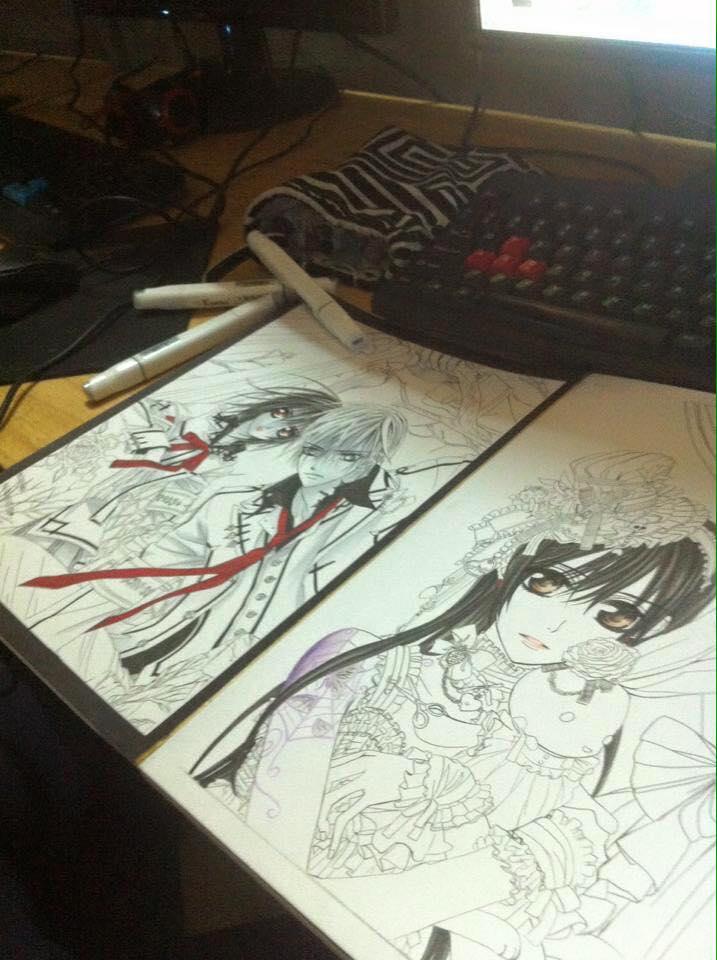 Thanh niên nghiêm túc ra net để tập vẽ Manga 1