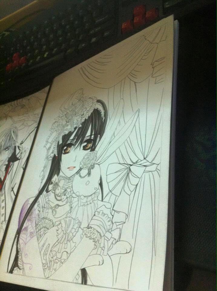 Thanh niên nghiêm túc ra net để tập vẽ Manga 2