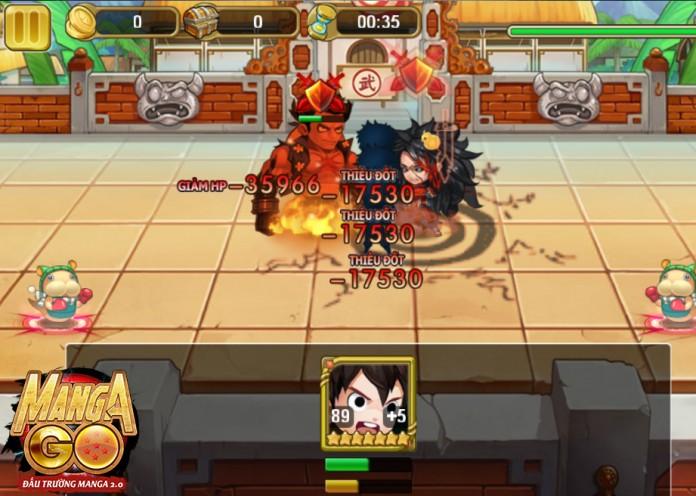Manga GO: Phát sốt với loạt tính năng mới cực hot trong phiên bản Đại Chiến Vua Hải Tặc 1