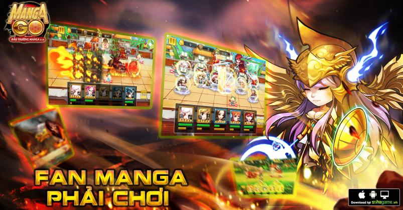 Manga GO: Phát sốt với loạt tính năng mới cực hot trong phiên bản Đại Chiến Vua Hải Tặc 5