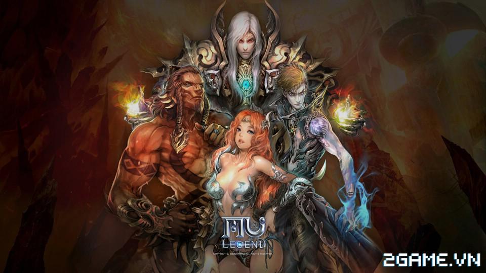 Sẽ không còn DK, DW và Elf trong MU Legend 0