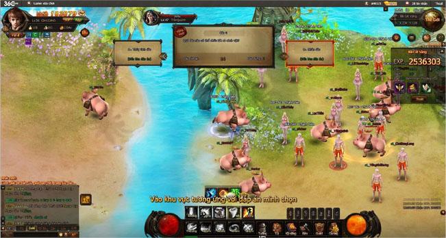Bách Chiến Vô Song 3 - Game thủ, biển xanh, cát trắng và… heo! 5