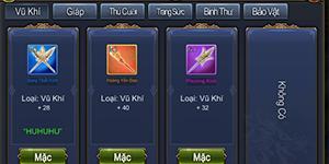 Long Tướng Mobile – Giới thiệu tính năng Trang bị Tướng