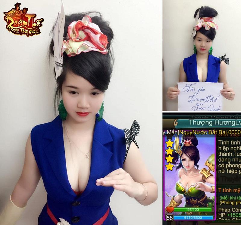 Loạn Thế Tam Quốc hết hồn với những màn cosplay