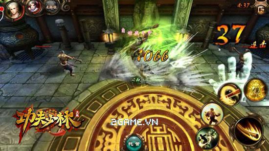 Kungfu Chi Vương - Khi PK người chơi có thể sử dụng trên 15 kỹ năng cùng lúc 2