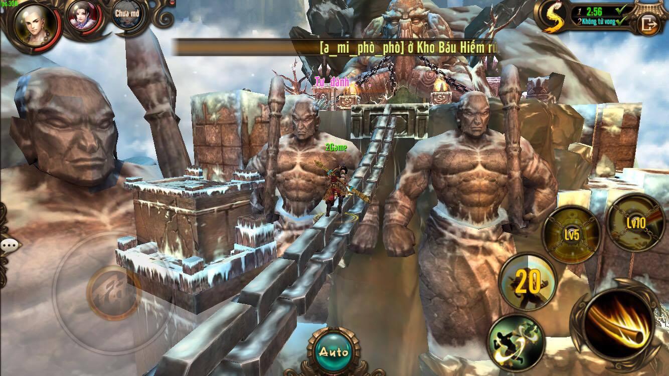 Cảm tưởng chơi Kungfu Chi Vương cứ như đang chiến game offline ý! 9