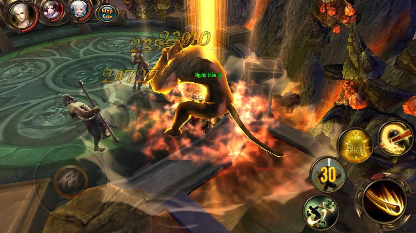 Cảm tưởng chơi Kungfu Chi Vương cứ như đang chiến game offline ý! 10