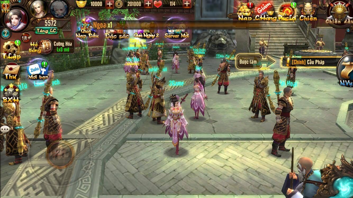 Cảm tưởng chơi Kungfu Chi Vương cứ như đang chiến game offline ý! 11